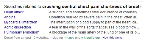 chest pain google